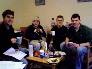 photo of an elevenses meeting